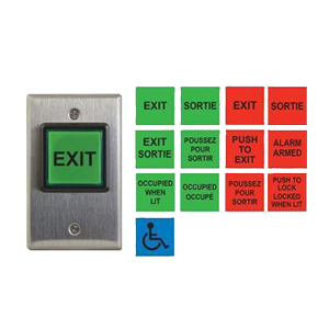 Exit Buttons & Switches